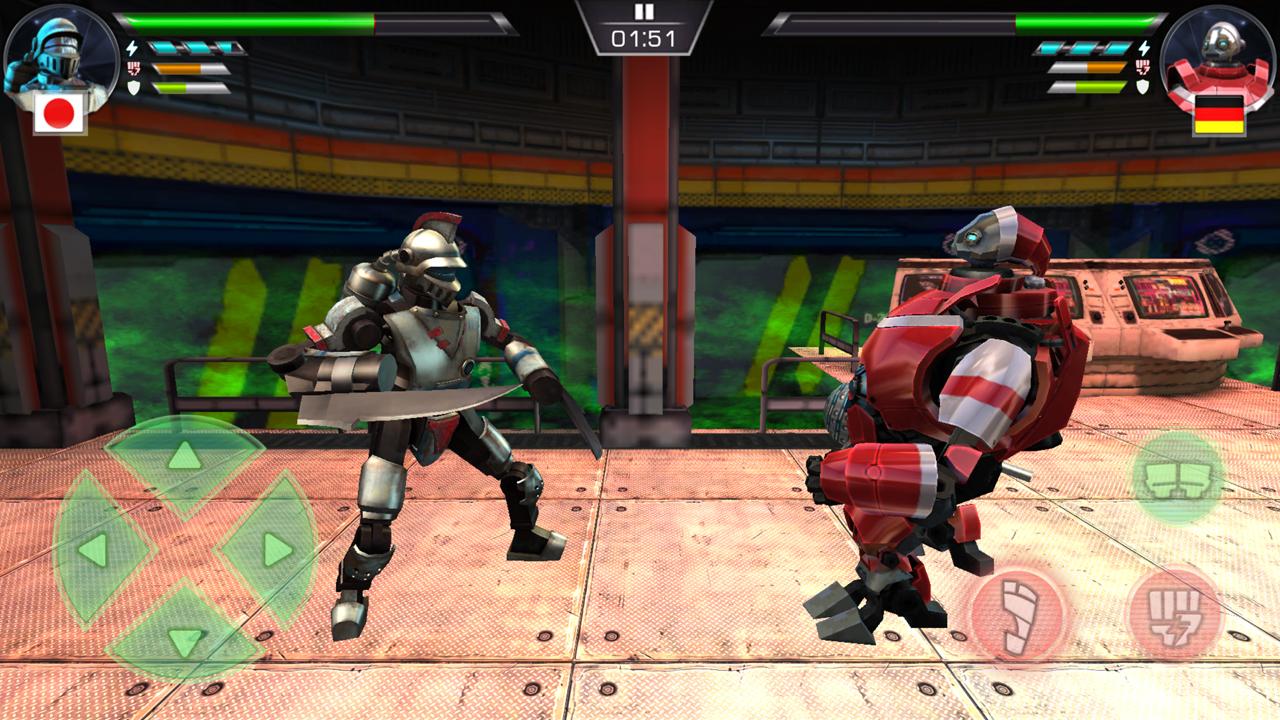 クラッシュ・オブ・ロボッツ(Clash Of Robots) androidアプリスクリーンショット3