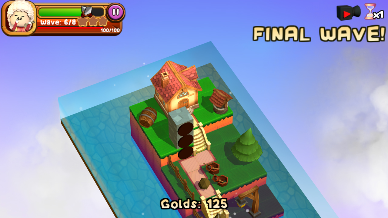 チッカ・インベイション(3DTD:Chicka Invasion) androidアプリスクリーンショット2