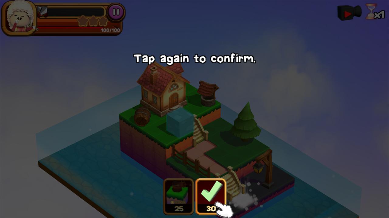 チッカ・インベイション(3DTD:Chicka Invasion) androidアプリスクリーンショット3