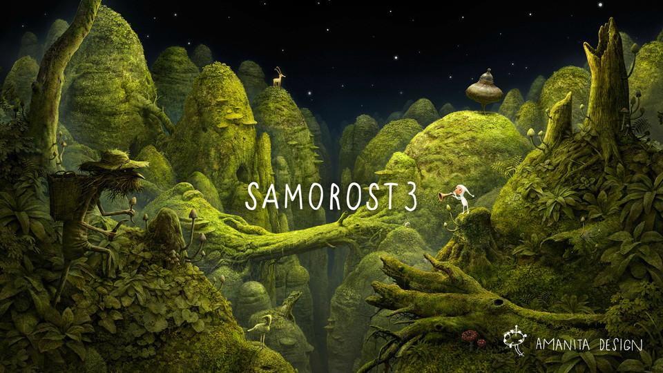 androidアプリ Samorost 3(サモロスト3)デモ版攻略スクリーンショット1