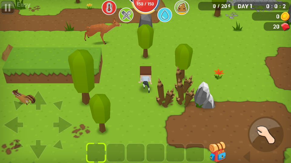 androidアプリ Mine Survival(マインサバイバル)攻略スクリーンショット2