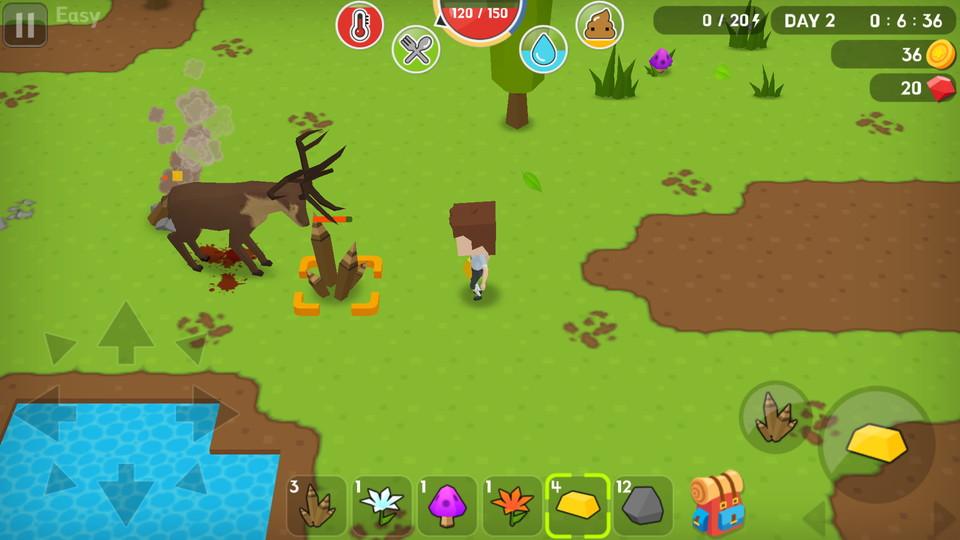 androidアプリ Mine Survival(マインサバイバル)攻略スクリーンショット3