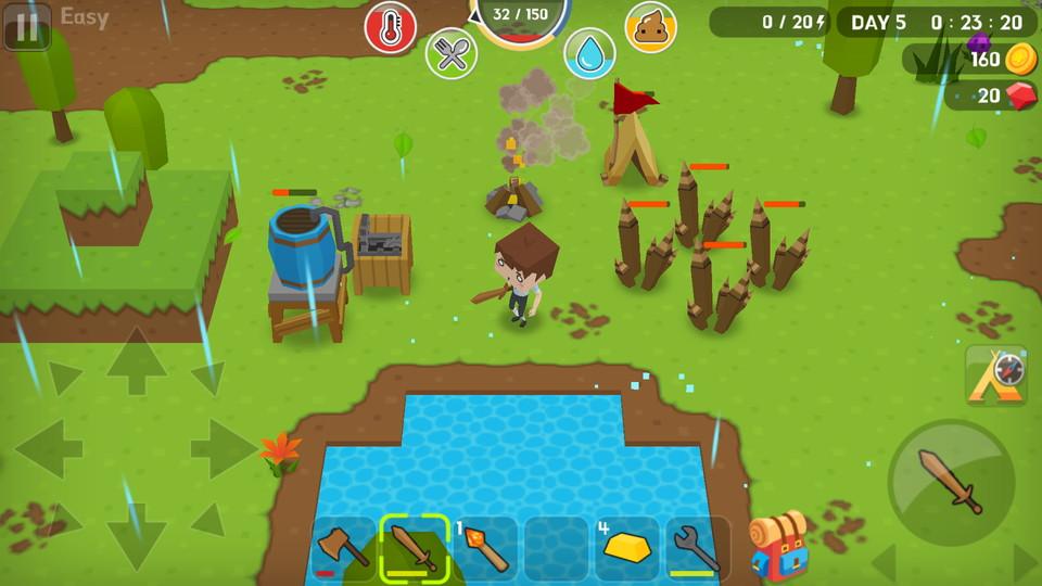 androidアプリ Mine Survival(マインサバイバル)攻略スクリーンショット4