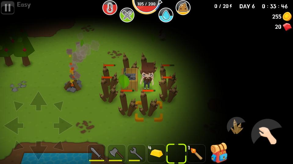 androidアプリ Mine Survival(マインサバイバル)攻略スクリーンショット5