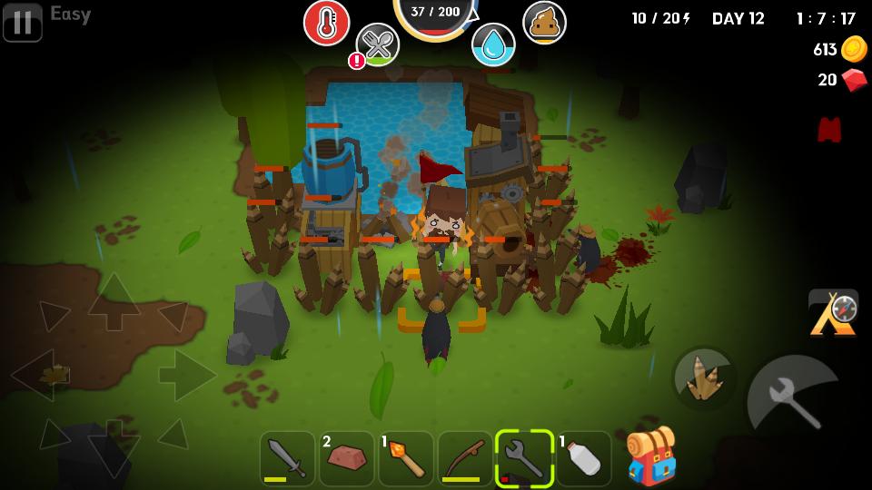 Mine Survival(マインサバイバル) androidアプリスクリーンショット2