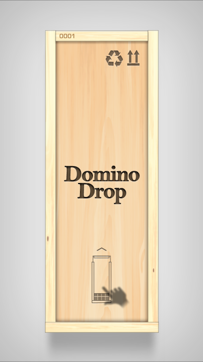 androidアプリ Domino Drop(ドミノドロップ)攻略スクリーンショット1