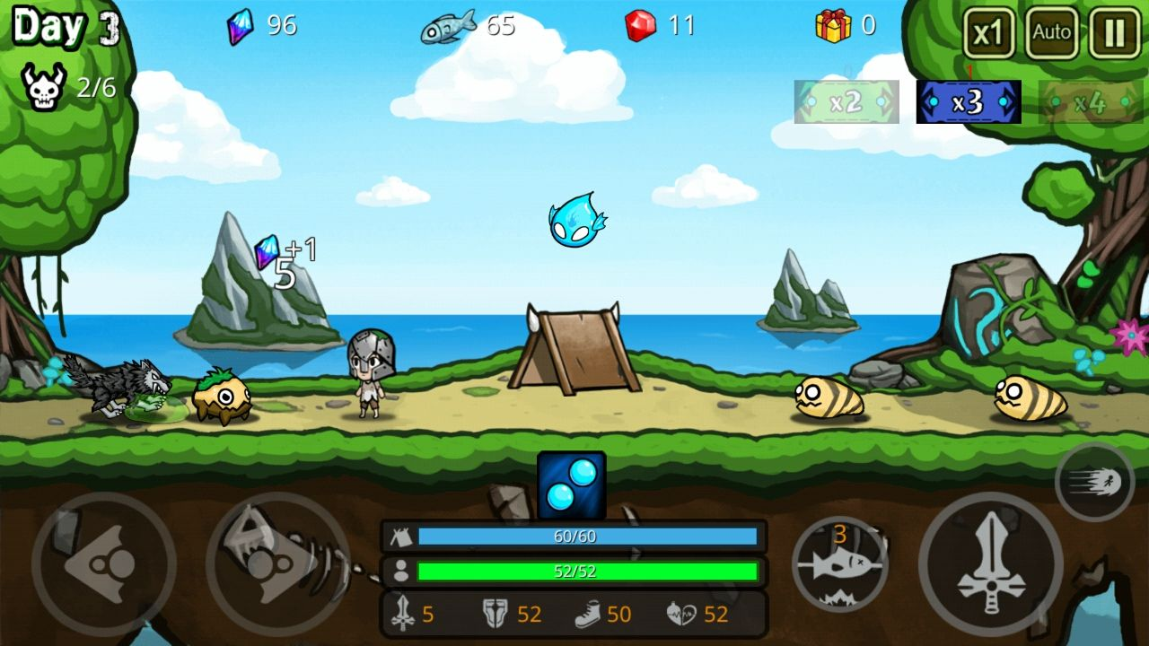 androidアプリ 無人島生存攻略スクリーンショット2