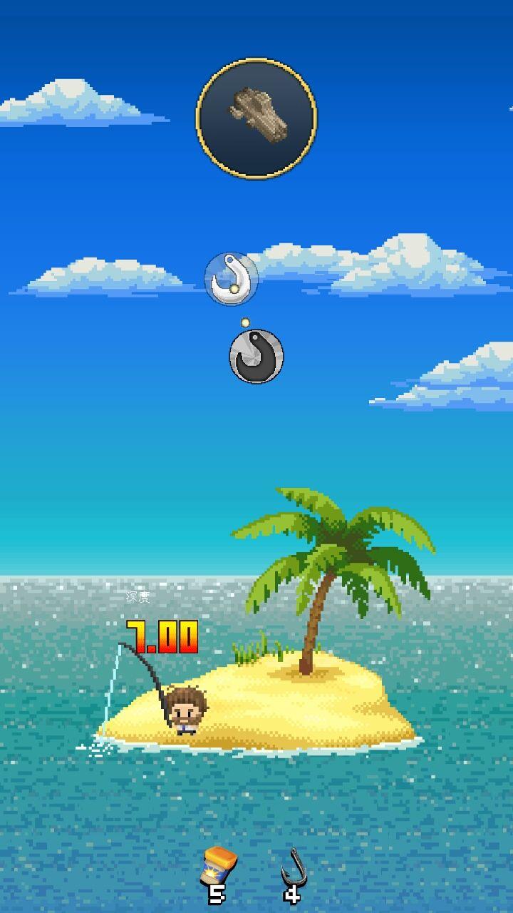 androidアプリ 孤島Fishing攻略スクリーンショット2