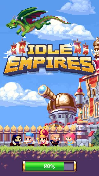 androidアプリ Idle Empires攻略スクリーンショット1