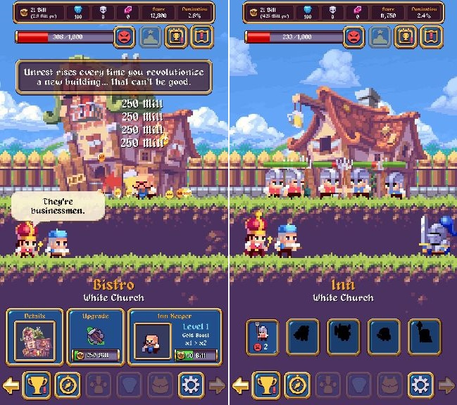 Idle Empires androidアプリスクリーンショット1
