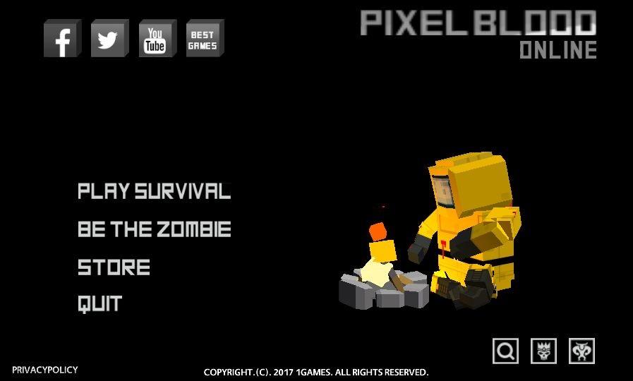 androidアプリ Pixel Blood Online(ピクセルブラッドオンライン)攻略スクリーンショット1