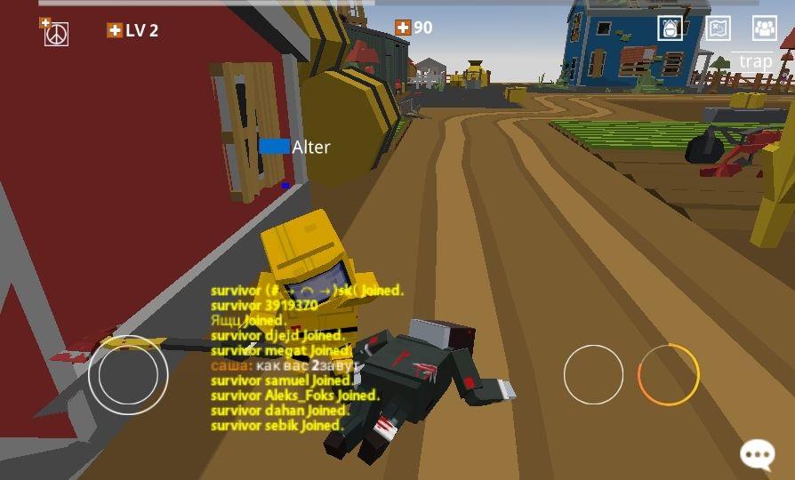 androidアプリ Pixel Blood Online(ピクセルブラッドオンライン)攻略スクリーンショット5