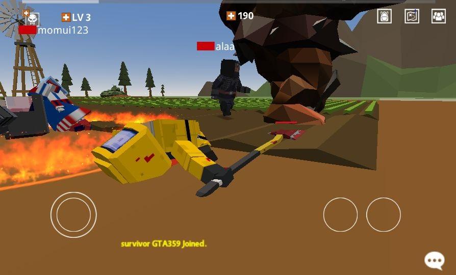 Pixel Blood Online(ピクセルブラッドオンライン) androidアプリスクリーンショット2