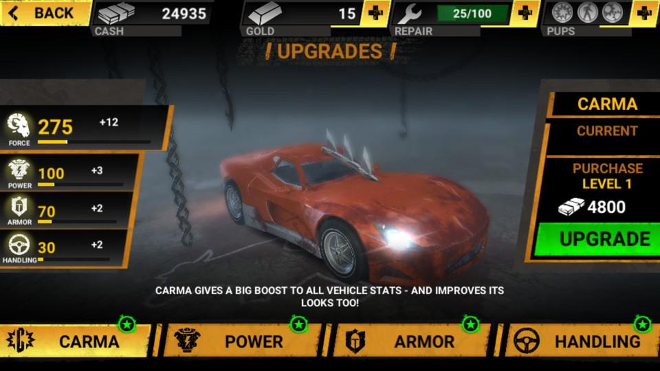 androidアプリ Carmageddon:Crashers(カーマゲドン・クラッシャーズ)攻略スクリーンショット6