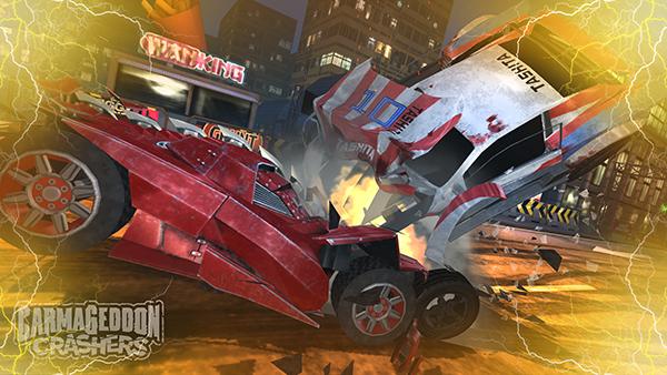 androidアプリ Carmageddon:Crashers(カーマゲドン・クラッシャーズ)攻略スクリーンショット8