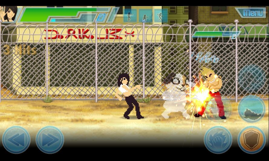 8 Bit Fighters(エイトビットファイターズ) androidアプリスクリーンショット3