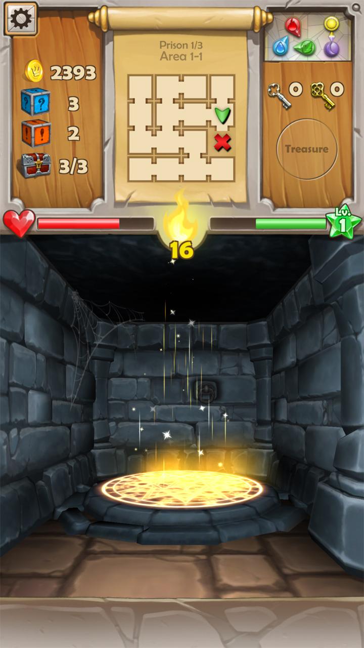 androidアプリ Dungeon Monsters(ダンジョン モンスターズ)攻略スクリーンショット5