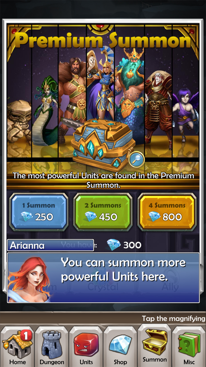 androidアプリ Dungeon Monsters(ダンジョン モンスターズ)攻略スクリーンショット8