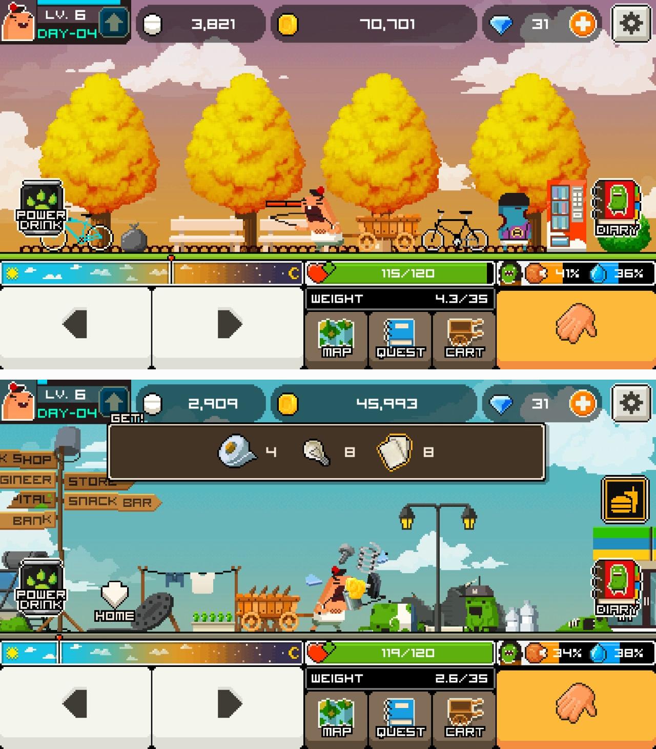 グッドモーニングゾンビ(Goodmorning!Zombie) androidアプリスクリーンショット1