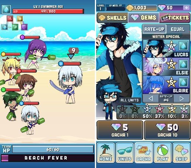 Gacha Resort(ガチャリゾート) androidアプリスクリーンショット1