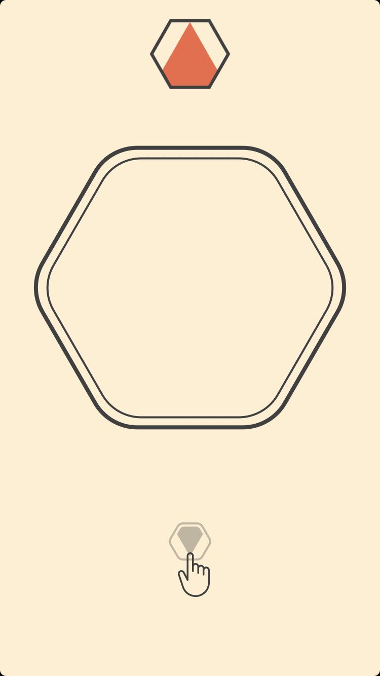 androidアプリ Colorcube(カラーキューブ)攻略スクリーンショット1