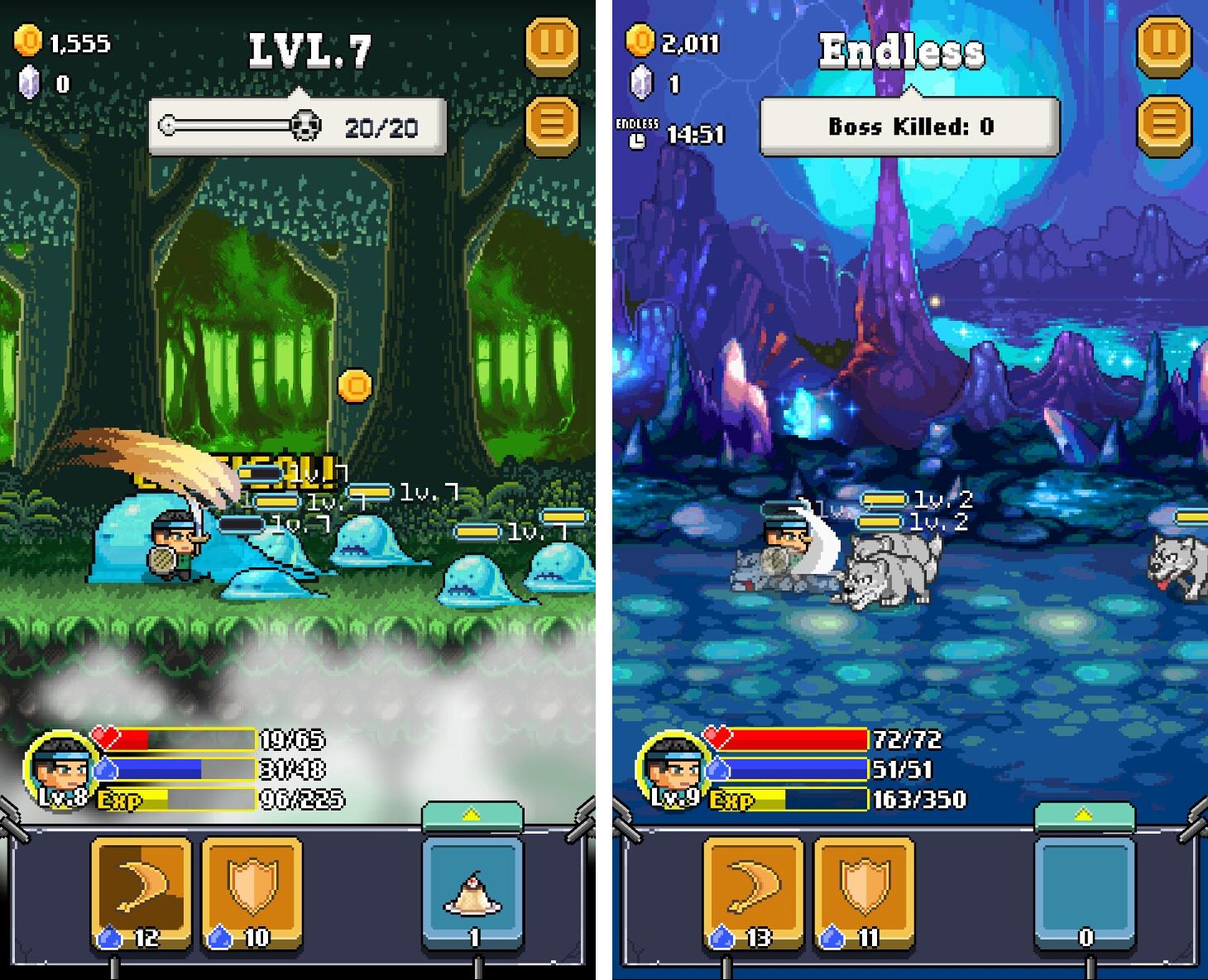 ザ マイティ ヒーロー(The Mighty Hero) androidアプリスクリーンショット1