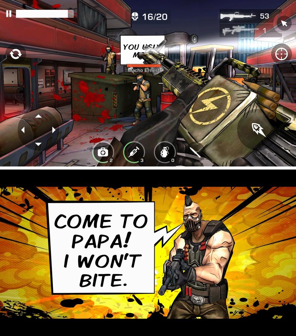 Major GUN 2:War on terror(メジャーガン2) androidアプリスクリーンショット1