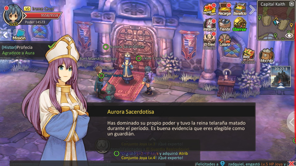 androidアプリ The Lost World:El Mundo Perdido(ザ・ロストワールド)攻略スクリーンショット2