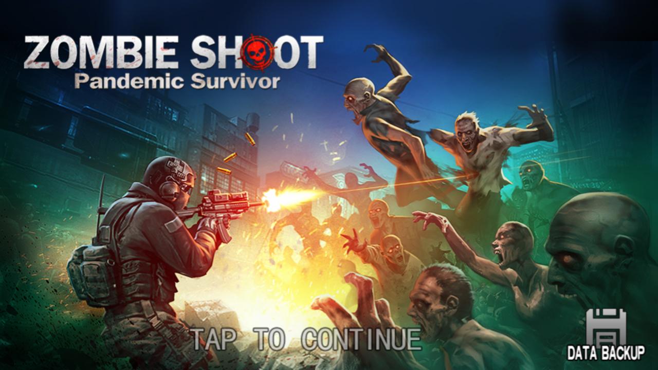 androidアプリ Zombie Shoot:Pandemic Survivor(ゾンビシュート:パンデミックサバイバー)攻略スクリーンショット1