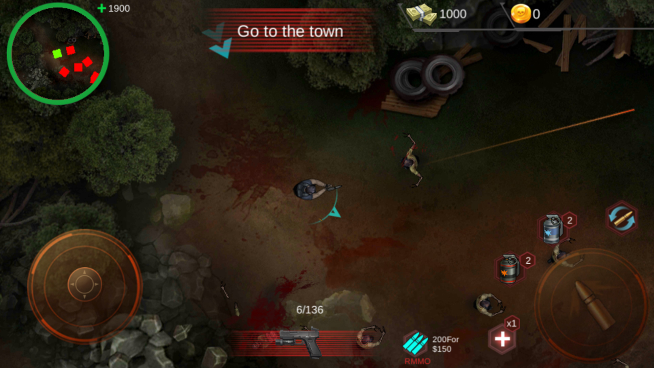 androidアプリ Zombie Shoot:Pandemic Survivor(ゾンビシュート:パンデミックサバイバー)攻略スクリーンショット3