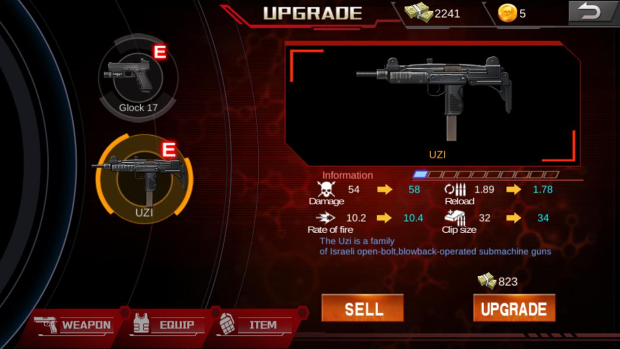androidアプリ Zombie Shoot:Pandemic Survivor(ゾンビシュート:パンデミックサバイバー)攻略スクリーンショット5