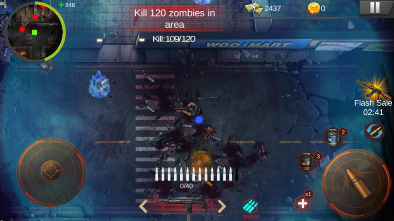 Zombie Shoot:Pandemic Survivor(ゾンビシュート:パンデミックサバイバー) androidアプリスクリーンショット1