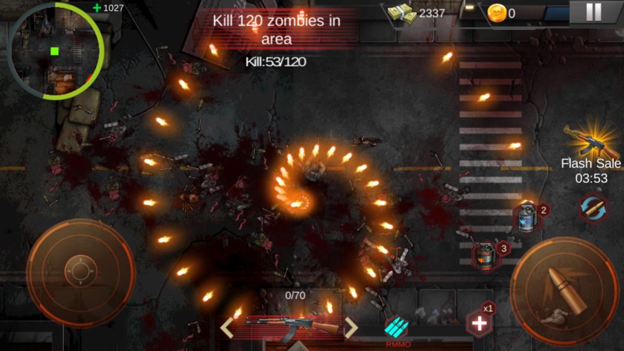 Zombie Shoot:Pandemic Survivor(ゾンビシュート:パンデミックサバイバー) androidアプリスクリーンショット2