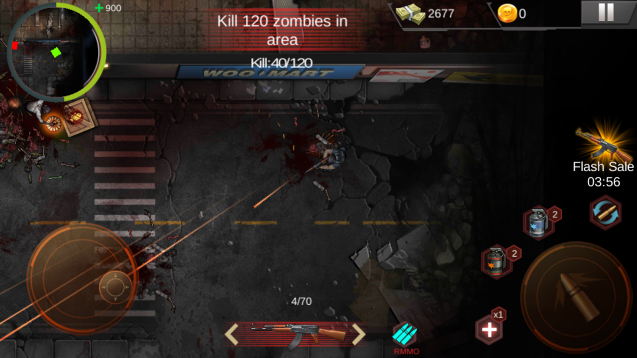 Zombie Shoot:Pandemic Survivor(ゾンビシュート:パンデミックサバイバー) androidアプリスクリーンショット3