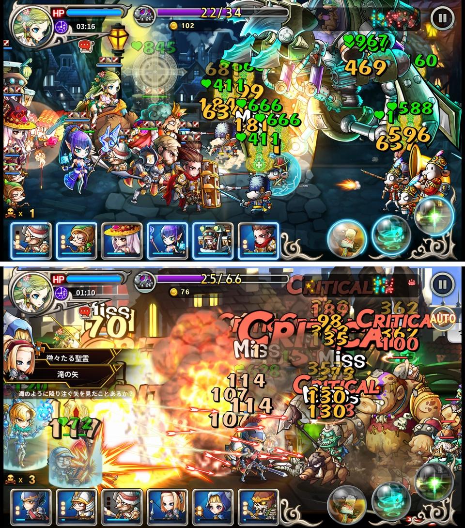 Mystic Heroes(ミスティックヒーローズ) androidアプリスクリーンショット1