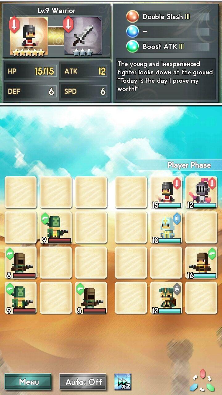 androidアプリ ドラゴンボルト バンガード(Dragonbolt Vanguard)攻略スクリーンショット2