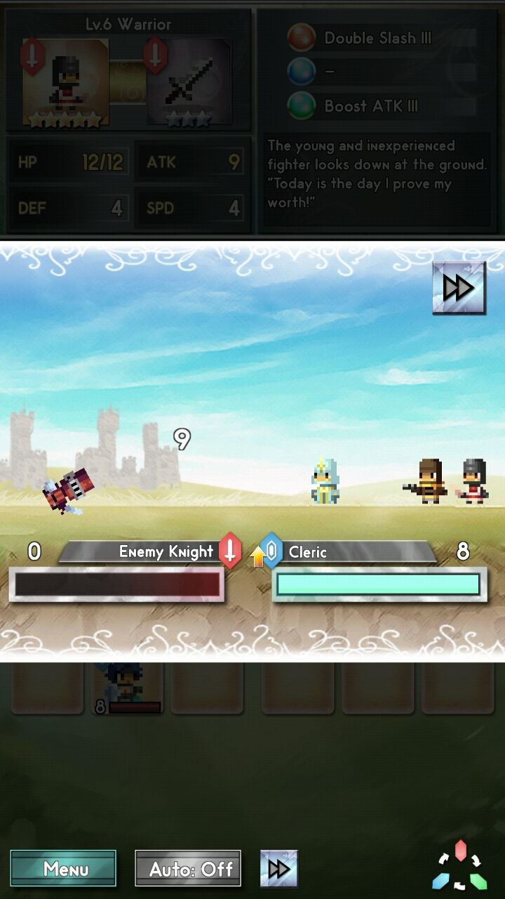 androidアプリ ドラゴンボルト バンガード(Dragonbolt Vanguard)攻略スクリーンショット3