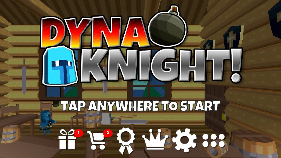 androidアプリ Dyna Knight(ダイナナイト)攻略スクリーンショット1