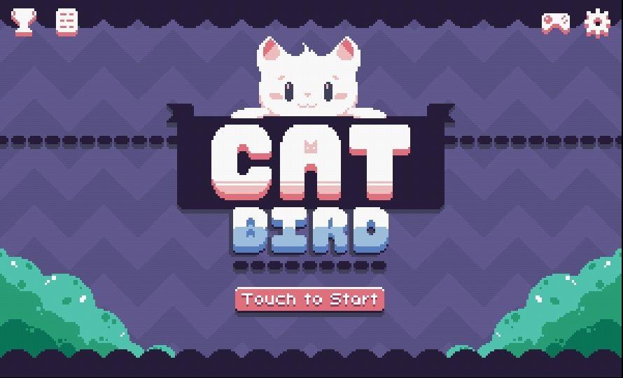 androidアプリ Cat Bird!(キャットバード!)攻略スクリーンショット1