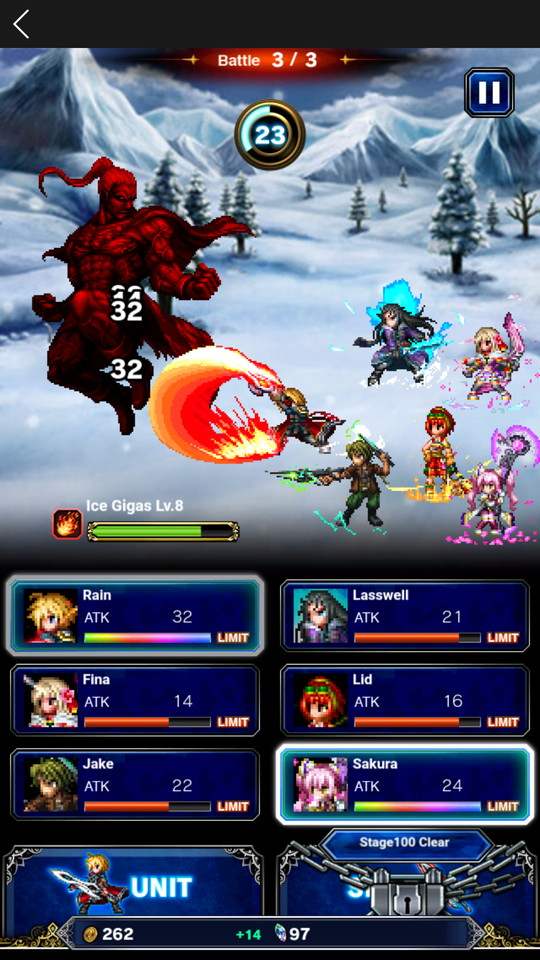 androidアプリ FINAL FANTASY BRAVE EXVIUS TAP!(FFBEタップ)攻略スクリーンショット4