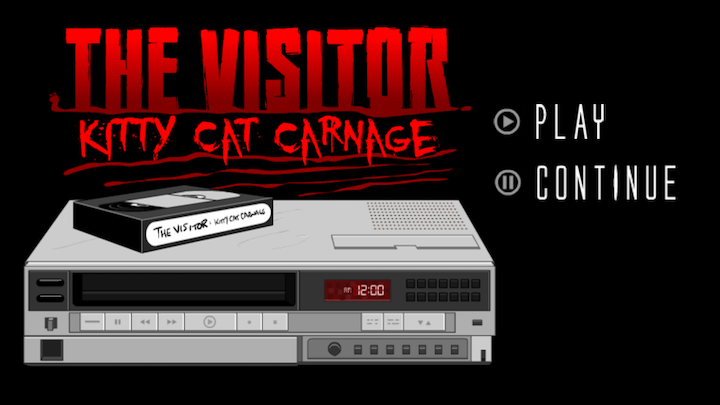 androidアプリ The Visitor: Kitty Cat Carnage攻略スクリーンショット1
