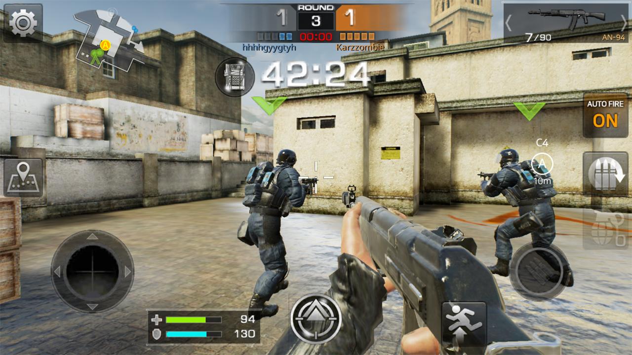 androidアプリ Combat Squad(コンバット スクアド)攻略スクリーンショット5