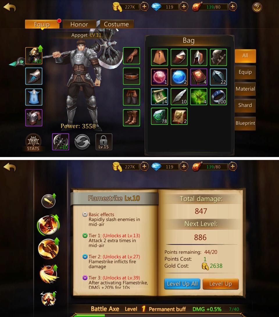 Eternity Guardians(エタニティ・ガーディアンズ) androidアプリスクリーンショット3