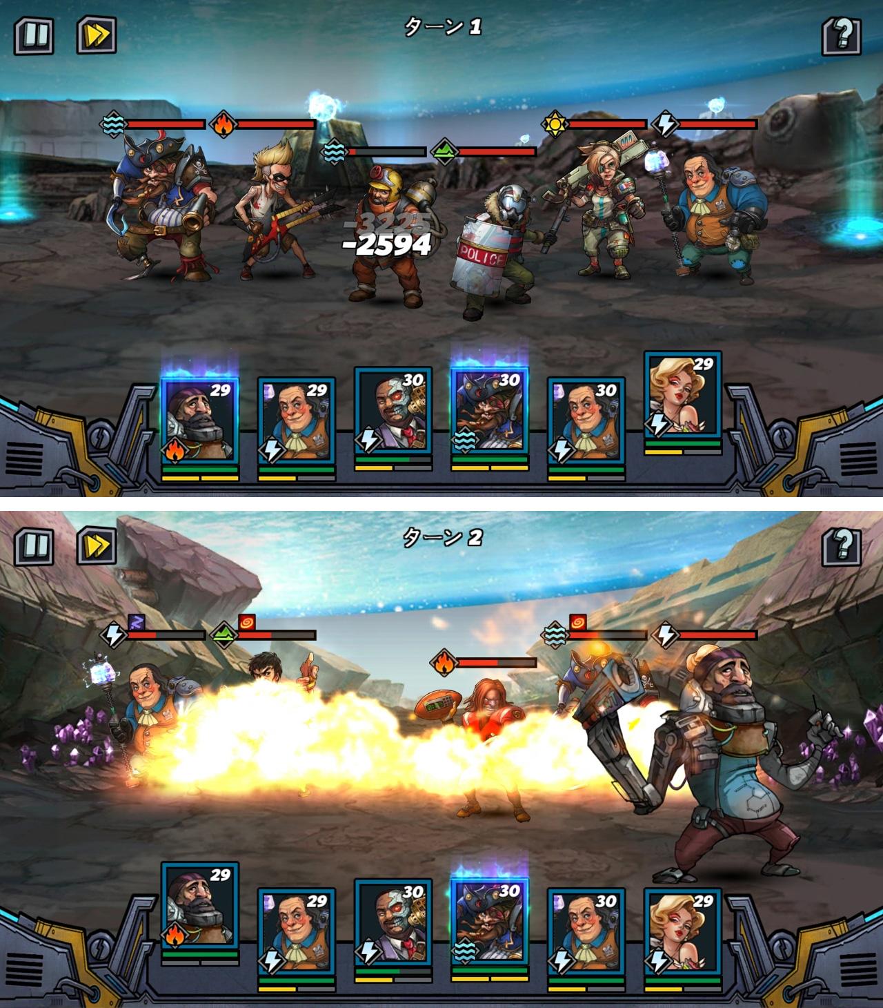クローンエボリューション(Clone Evolution: War of the Mutants) androidアプリスクリーンショット1
