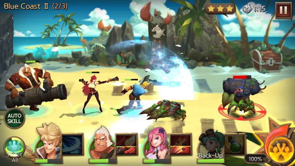 androidアプリ Hunters League(ハンターリーグ)攻略スクリーンショット2