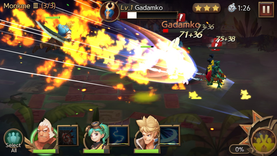 androidアプリ Hunters League(ハンターリーグ)攻略スクリーンショット4