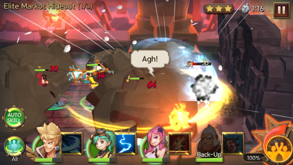 androidアプリ Hunters League(ハンターリーグ)攻略スクリーンショット5