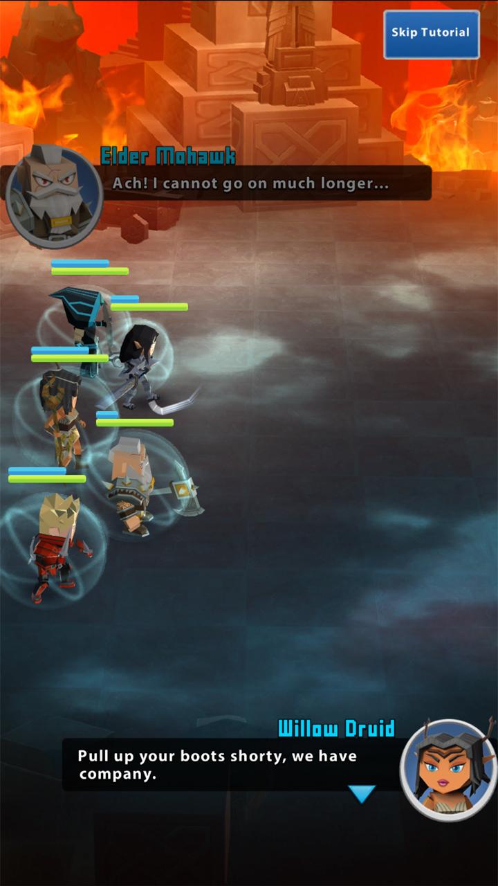 androidアプリ Portal Quest(ポータルクエスト)攻略スクリーンショット1