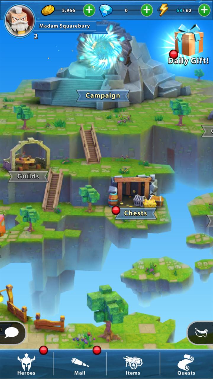 androidアプリ Portal Quest(ポータルクエスト)攻略スクリーンショット3