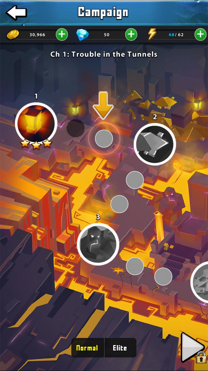 androidアプリ Portal Quest(ポータルクエスト)攻略スクリーンショット4